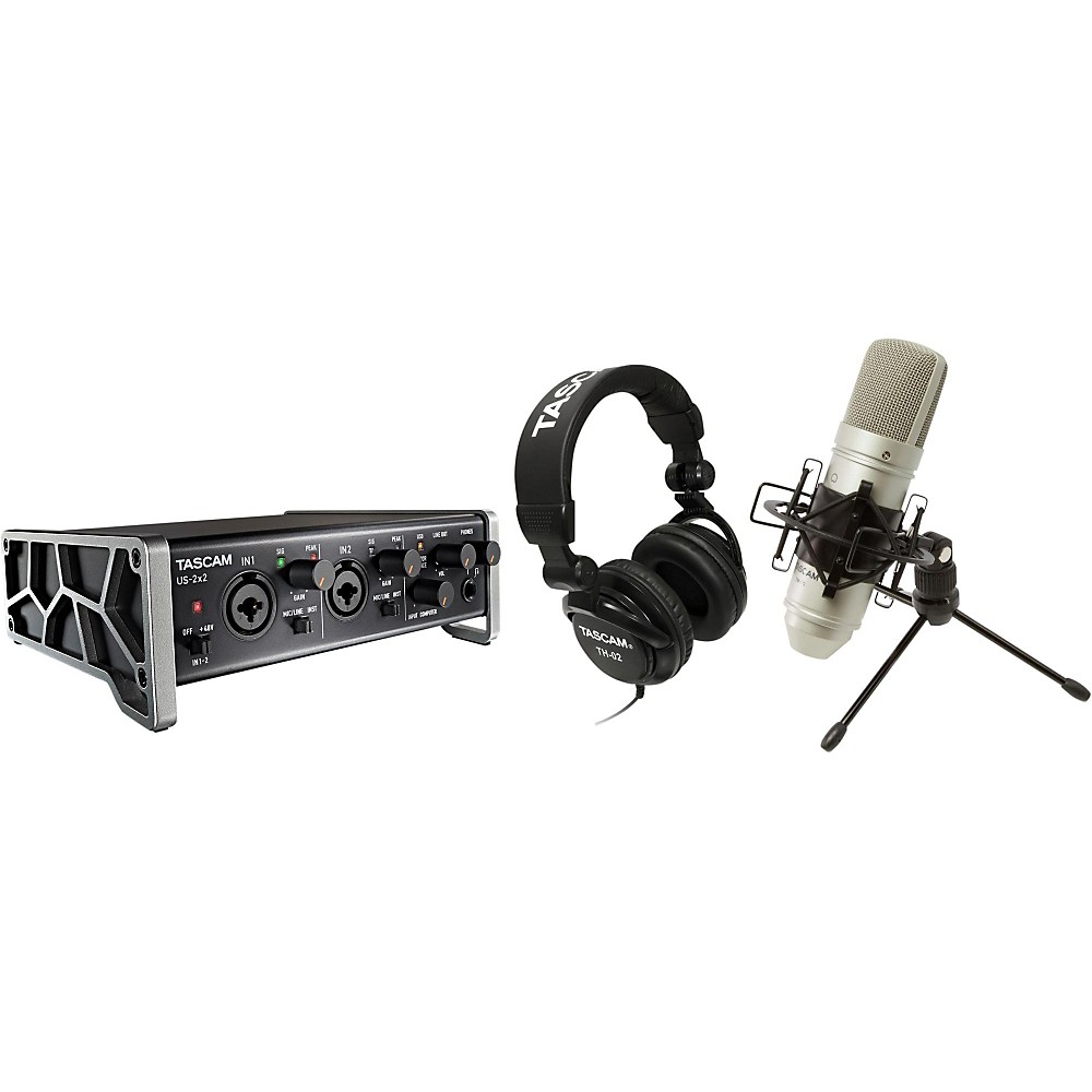 TASCAM TrackPack 2x2 Complete Recording Studio for Mac/Wi...