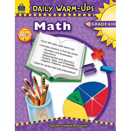 Daily Warm-Ups: Math, Grade 6 (Daily Warm Ups)