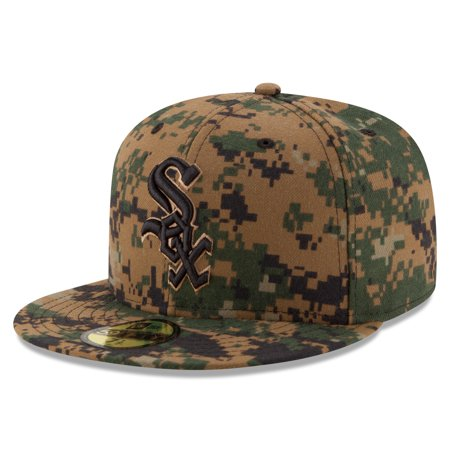 Chicago White Sox New Era 2016 Memorial Day 59FIFTY Fitted Hat - Digital Camo
