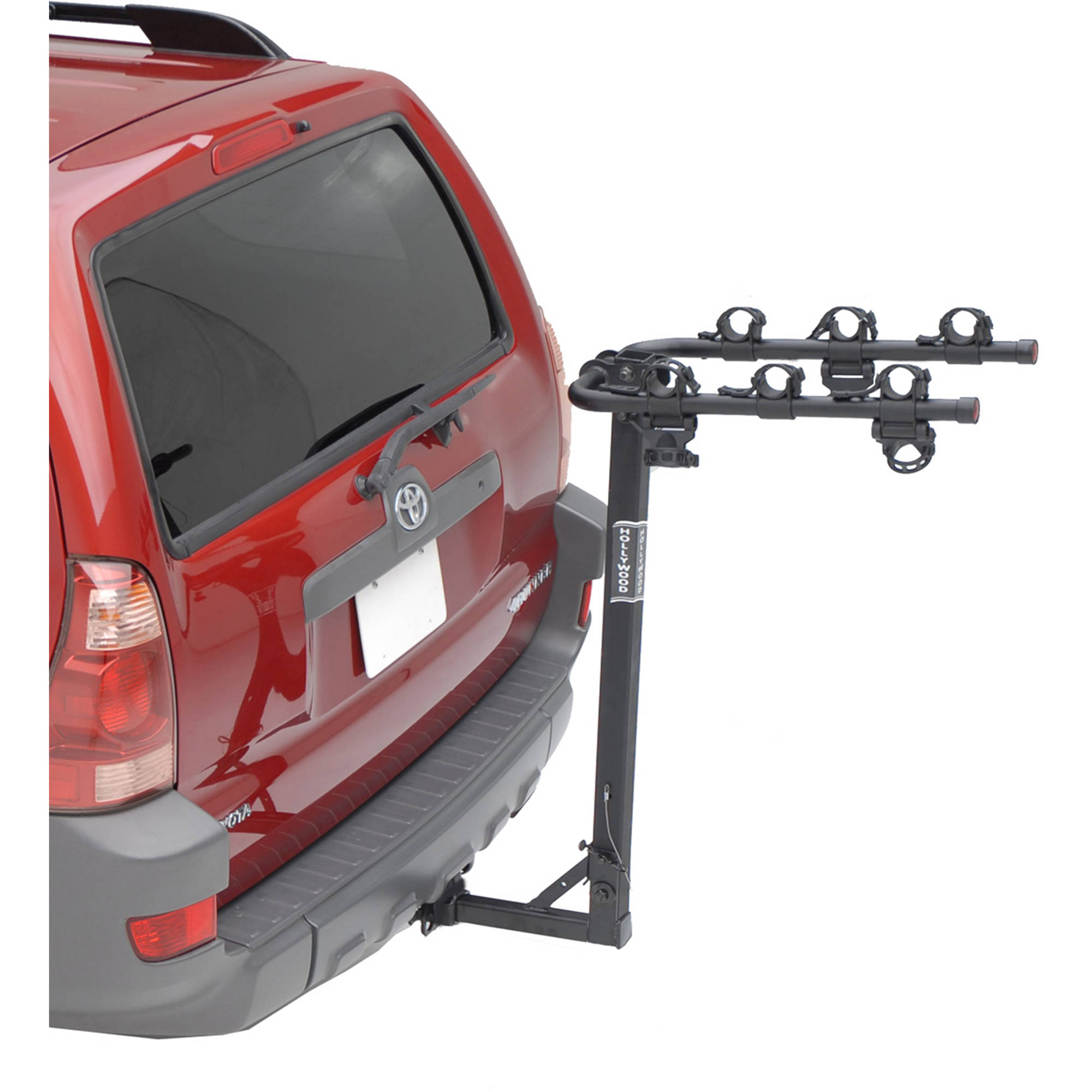 "Hollywood Racks Traveler 3-Bike Bike Rack, 1-1/4"" and 2"" Hitch"