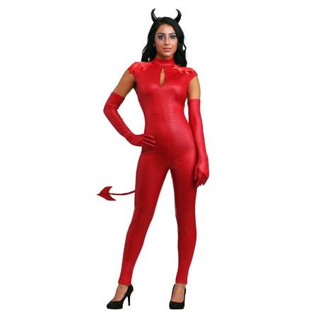Devil Women Costume (Women's Devious Devil Costume)