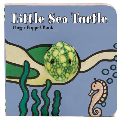 Little Sea Turtle Finger Puppet Book (Board Book)