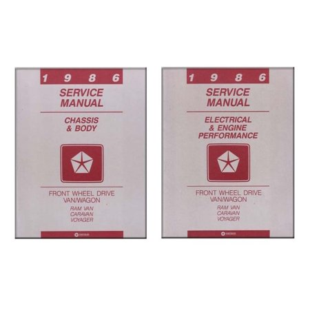 Bishko OEM Repair Maintenance Shop Manual Bound for Dodge Caravan