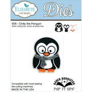 """Elizabeth Craft Designs EC908 Elizabeth Craft Pop It Up Metal Dies By Karen Burniston - Chilly The Penguin, 2.38""""X3.62"""""""