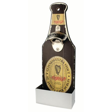 Guinness Nostalgic with Mounted Opener & Catch -Label