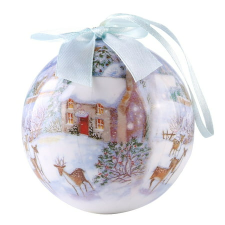 Winter Wonderland Collection Christmas Ball Indoor Decorative Ornament