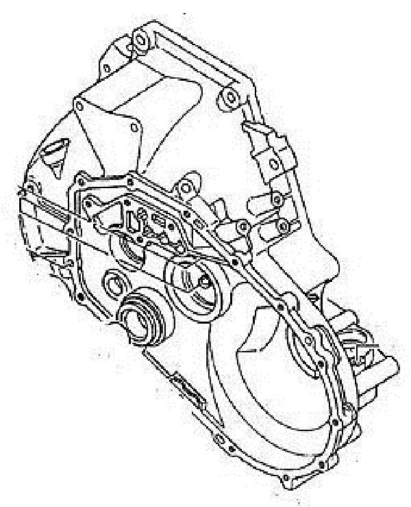Gm Transmission Housing Part Number 97133348 Gm Vehicles 5 Speed