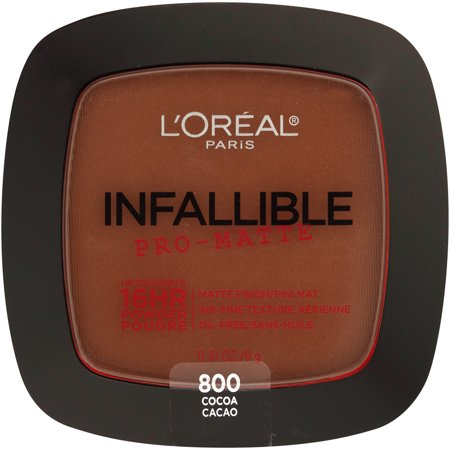 L'Oreal Paris Infallible Pro-Matte Pressed Powder - 800 Cocoa - 0.31oz