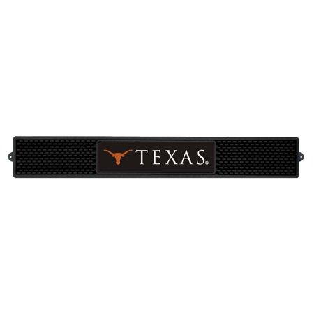 NCAA University of Texas Longhorns 3-D Vinyl Drink Mat Tailgate Accessory Illinois University Tailgate Mat