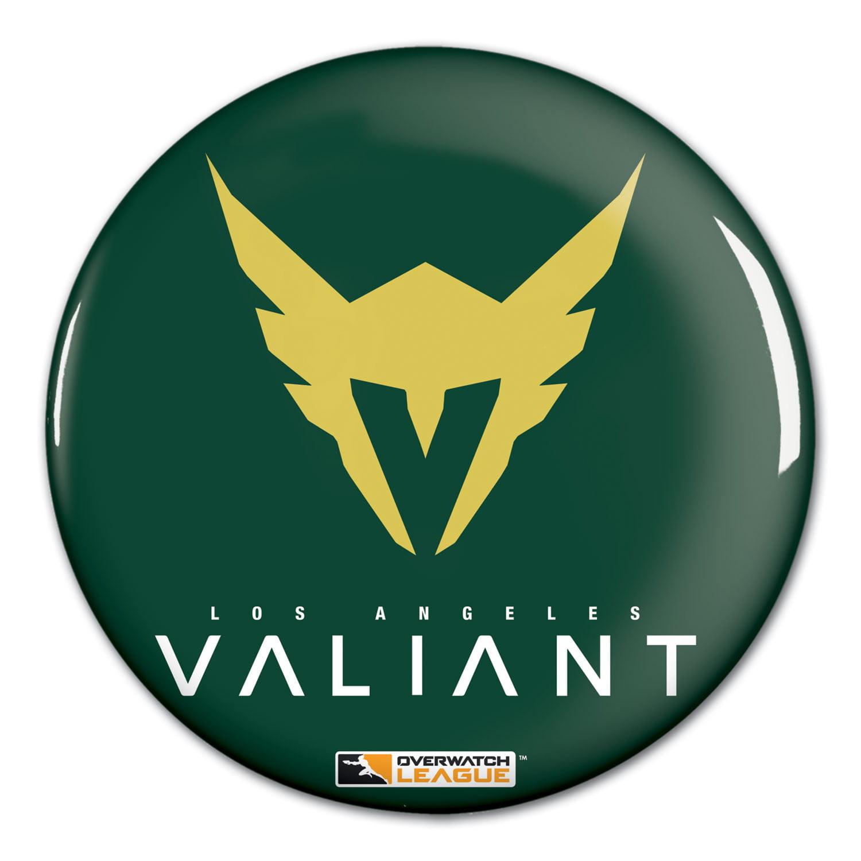"Los Angeles Valiant WinCraft Team Logo 1.25"" Button Pin - No Size"