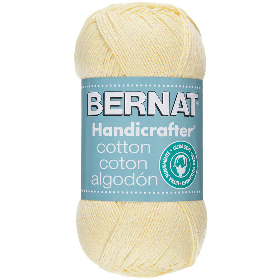 Bernat Handicrafter Cotton Yarn Solids and Twists