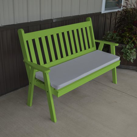 a l furniture yellow pine traditional english garden bench