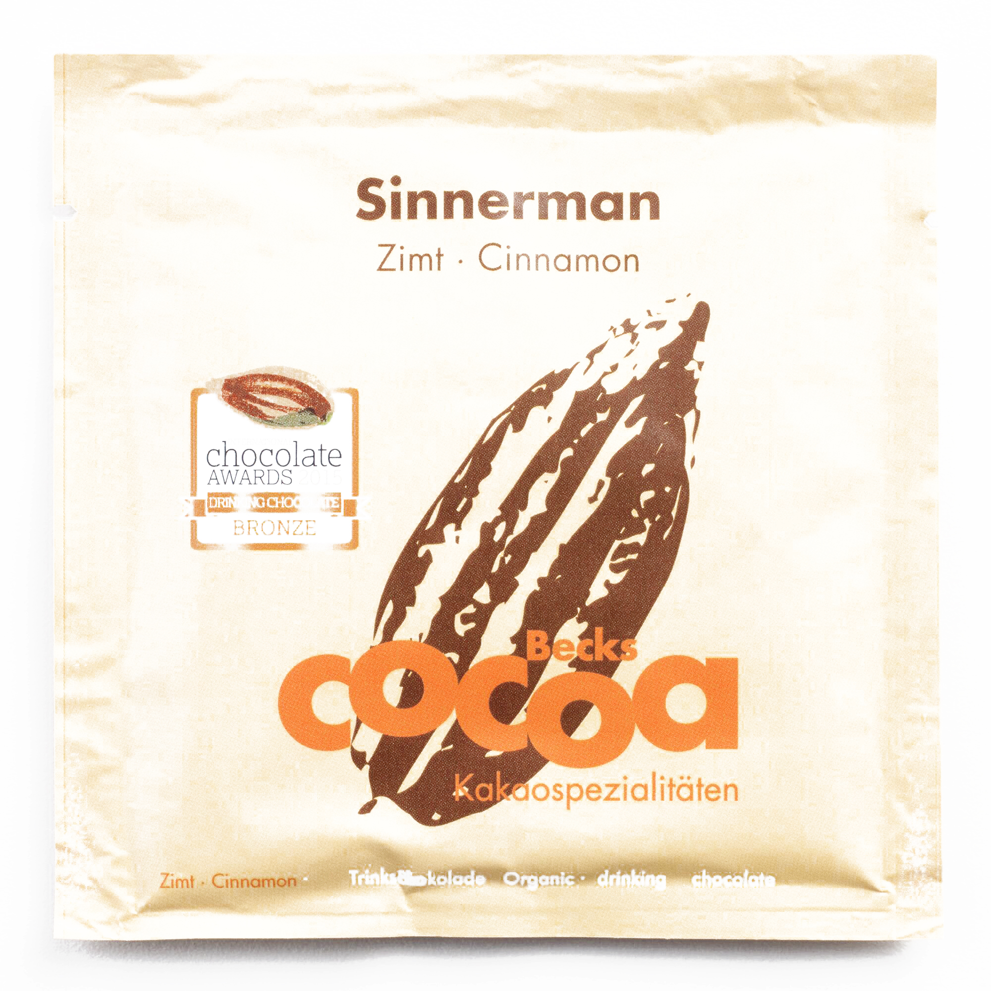 Becks Cocoa Sinnerman Cinnamon Hot Cocoa Packet \t0.9 oz each (1 Item Per Order, not per... by