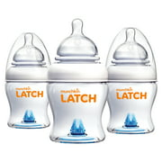 Munchkin LATCH 8oz Baby Bottle, 3 Pack