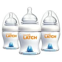 Munchkin LATCH 8oz Baby Bottle, 3 Pack