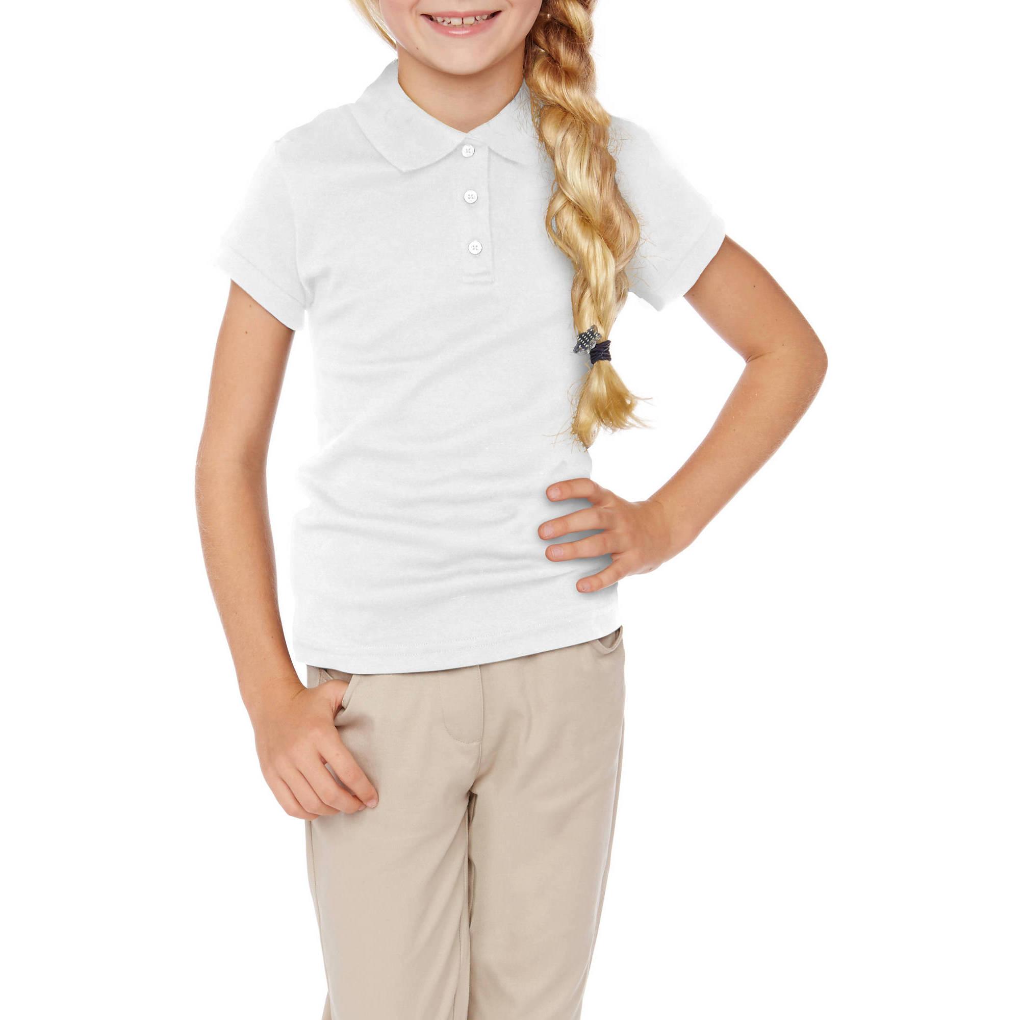 George Girls' School Uniforms Short Sleeve Polo Shirt
