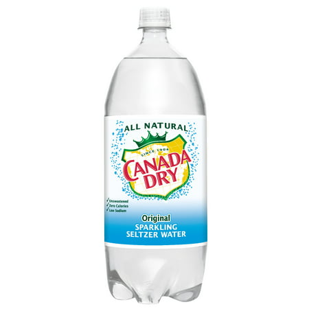 Canada Dry Original Sparkling Seltzer Water, 2 L