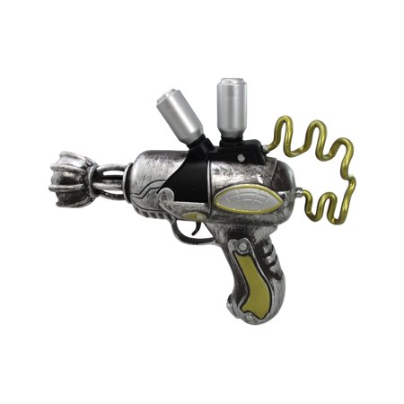 Steampunk Ray Gun Alien Blaster Prop Toy Halloween Accessory