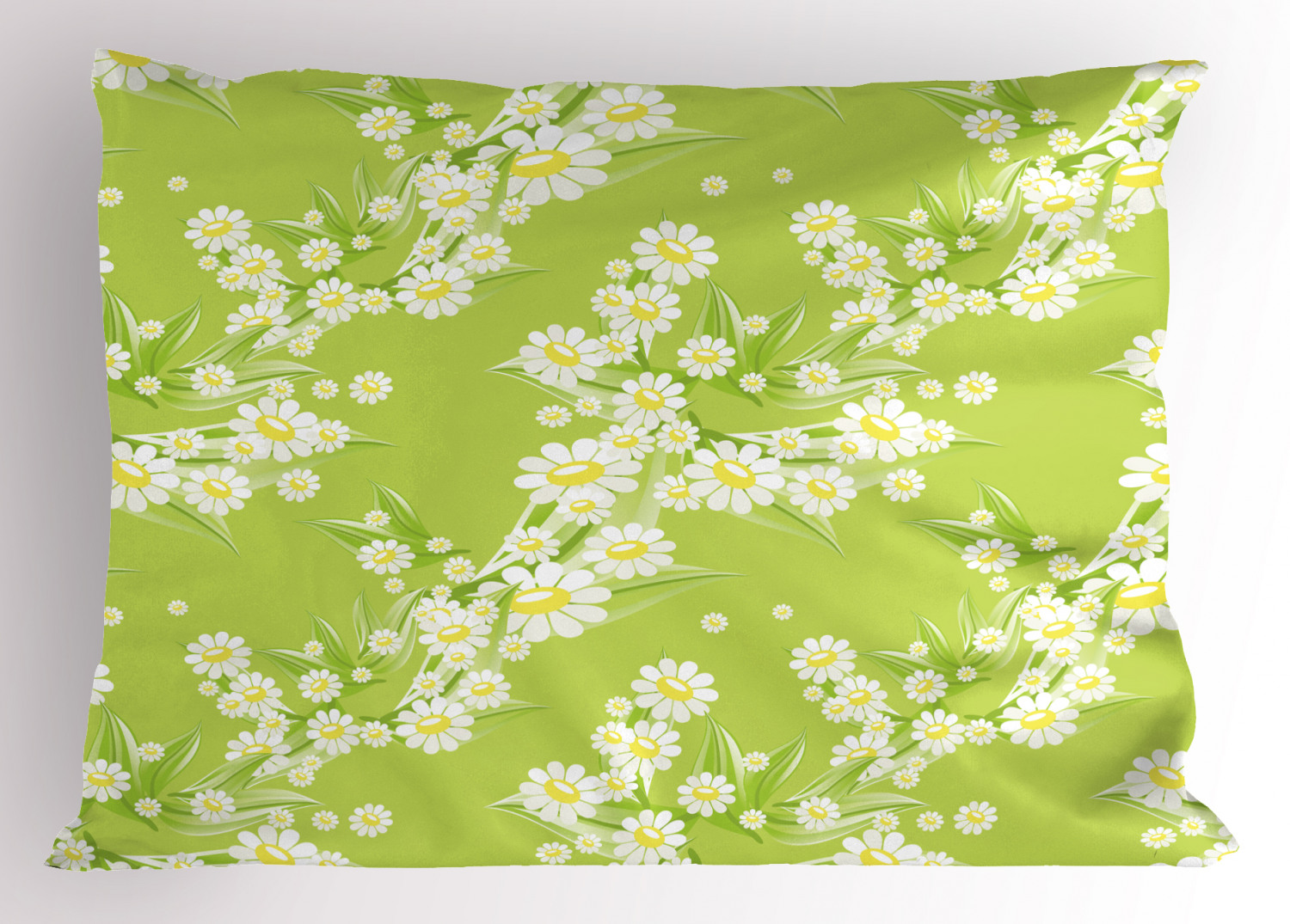 2 1//2 inch wide Daisy Flower Print Linen Ribbon select color price for 1 yard