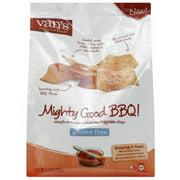 Van's Natural Foods Mighty Good BBQ! Baked Multigrain Chips, 5.5 oz, (Pack of 6)