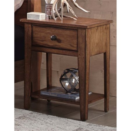 Oak Express Furniture Stores (Liberty Furniture Grandpa's Cabin Nightstand in Aged)