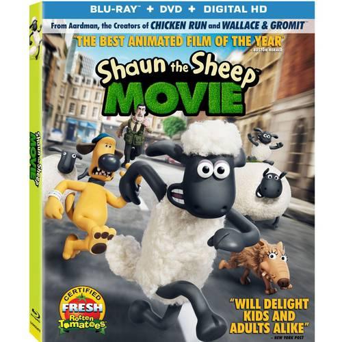 Shaun The Sheep: The Movie (Blu-ray + DVD + Digital HD) (With INSTAWATCH)