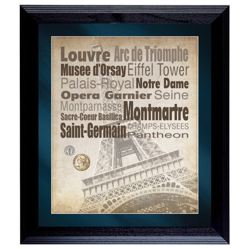 American Coin Treasures Paris The City of Lights Framed Memorabilia