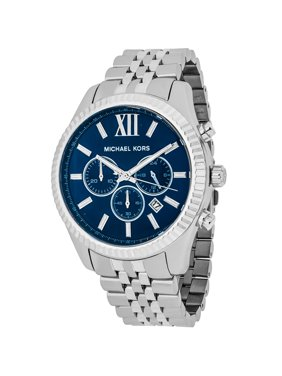 Michael Kors Lexington Silver Stainless Steel Watch