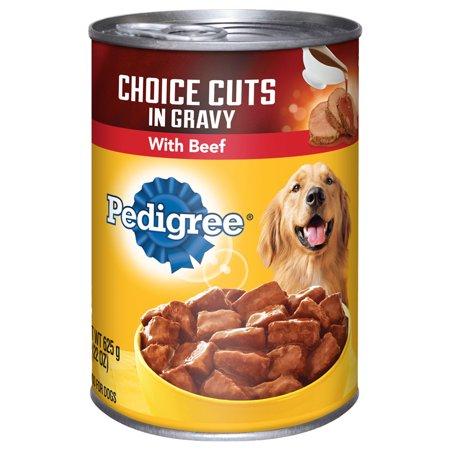 Pedigree CHOIX COUPES en sauce avec du boeuf en conserve des aliments pour chiens 22 Onces