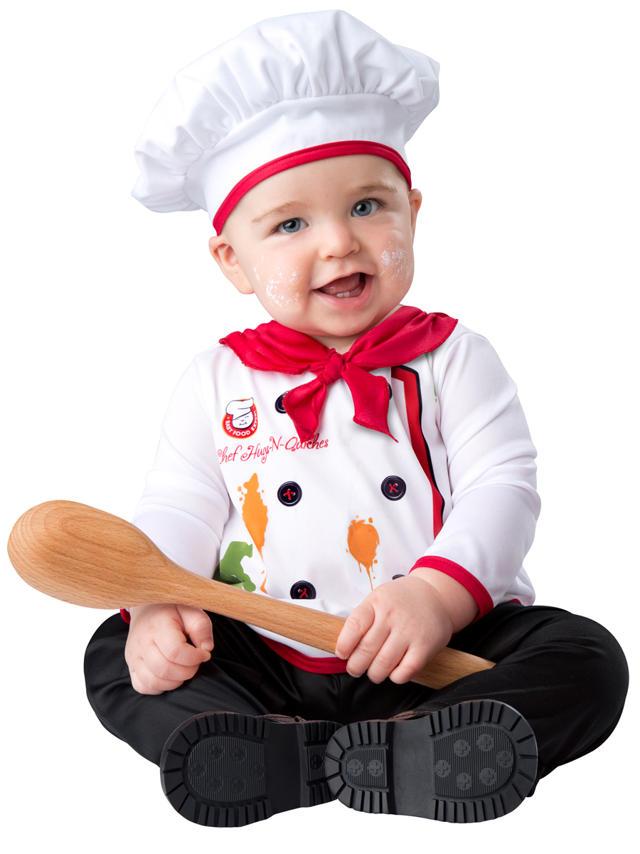 InCharacter Baby Hugs & Quiches Chef Halloween Costume 18-24 months by