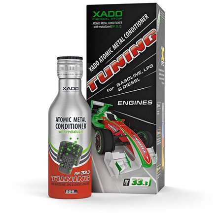 Xado Atomic Metal Conditioner Tuning with Revitalizant 60K Treatment and Additive for Gasoline LPG and Diesel Engines ()