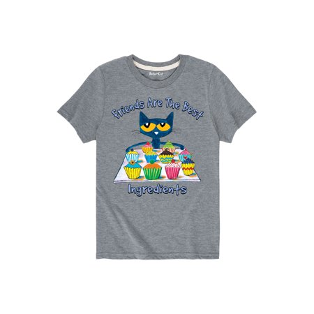 Pete The Cat Friends Are The Best Ingredients  - Toddler Short Sleeve