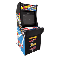 Deals on Asteroids Arcade Machine, Arcade1UP, 4ft