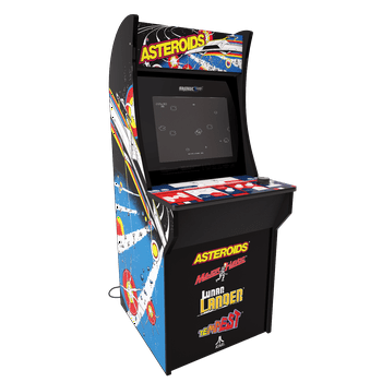 Arcade1Up 4-Foot Asteroids Gaming Machine