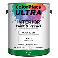 ColorPlace ULTRA Interior Paint & Primer in One, White