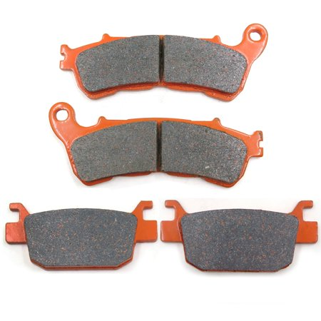 HTTMT Replacement of FA388 FA415 Brake Pads Brakes for Honda NSS 250 Forza ABS 05-08 NSS 300 14-15 SH 300i Front Rear Carbon Fiber