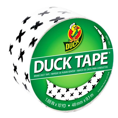 Duck Brand Printed Duct Tape Patterns: 1.88 in. x 30 ft. (Brushed - Print Dust
