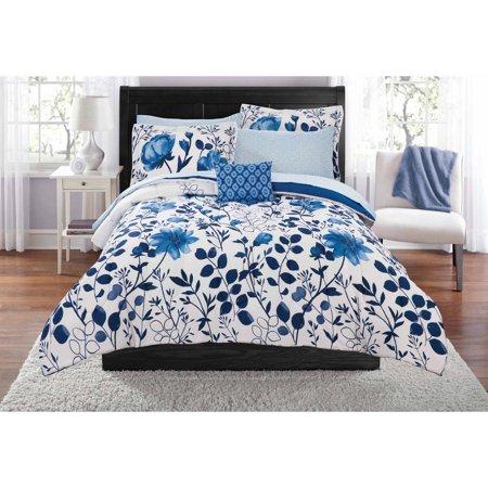 Mainstays Kamala Bed in a Bag Bedding Set