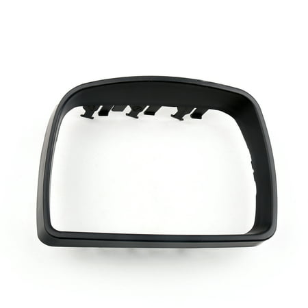 Motor Genic Right Cover Cap Trim Ring For Outside Door Mirror Black BMW E53 X5 2000-2006