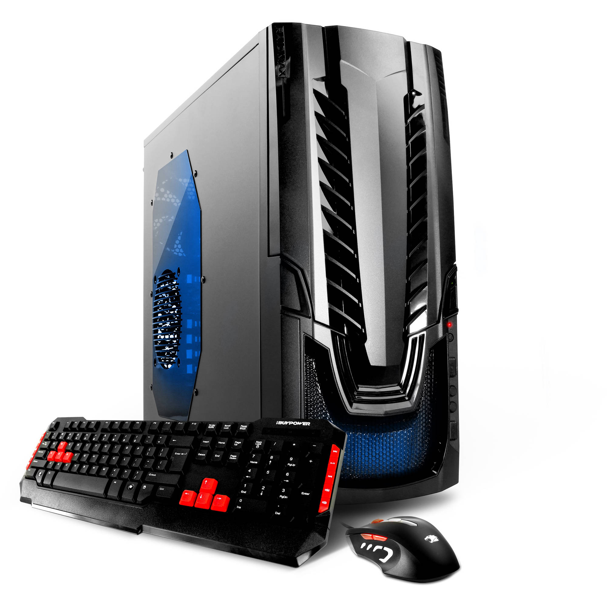 iBUYPOWER WA550G Gaming Desktop PC with AMD FX-4300 Quad-Core Processor, 8GB Memory, 1TB Hard Drive and Windows 10 Home (Monitor Not Included)