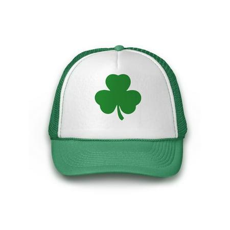 Awkward Styles Irish Clover Baseball Hat St. Patrick s Day Hats for Men  Lucky Hats for St. Paddy s Day Shamrock Mesh Caps Irish Gifts Irish Green  Trucker ... b3f397e11c6