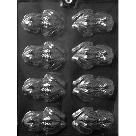 - Grandmama's Goodies A126 Frog Mold Chocolate Candy Soap Mold with Exclusive Molding Instructions