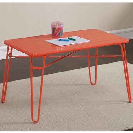 Dimensions Furniture Outdoor Metal Kids Table