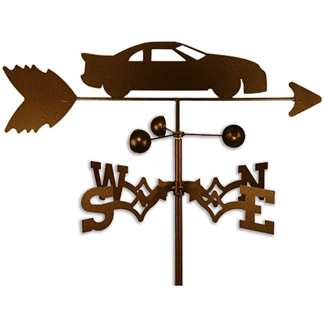 SWEN Products Inc Handmade Stock Race Car Weathervane