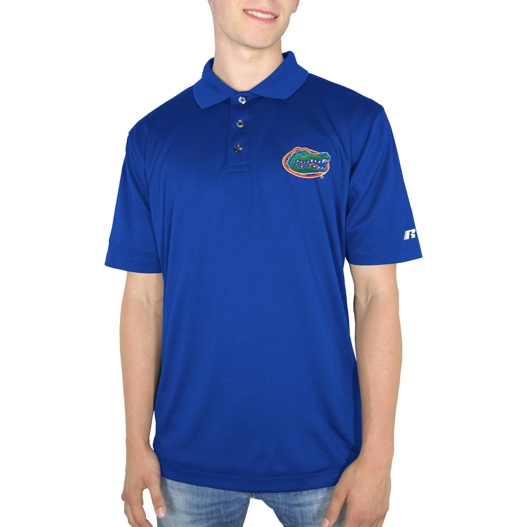 Russell NCAA Florida Gators  Men's Synthetic Polo