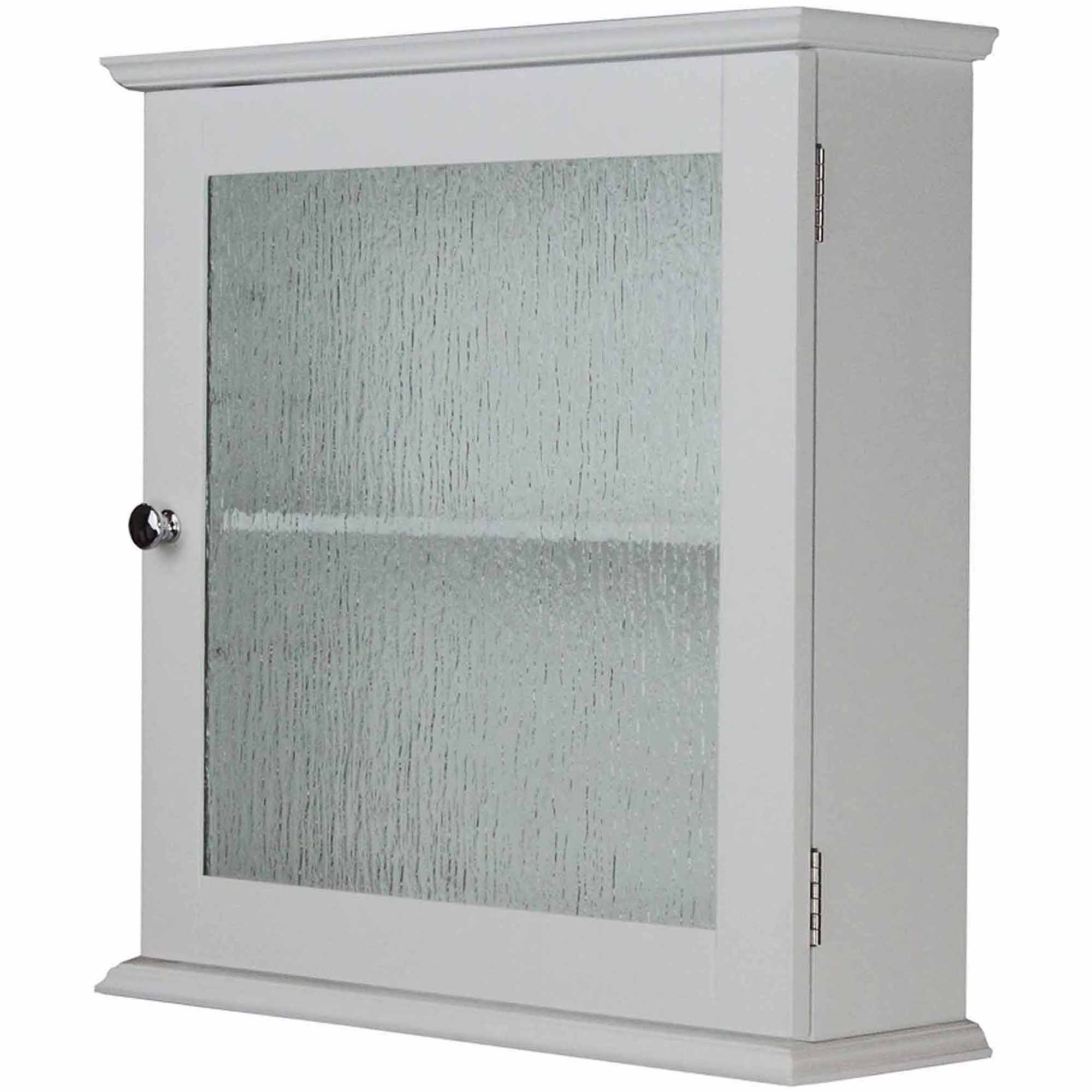 Connor Medicine Cabinet With 1 Glass Doo   Walmart.com