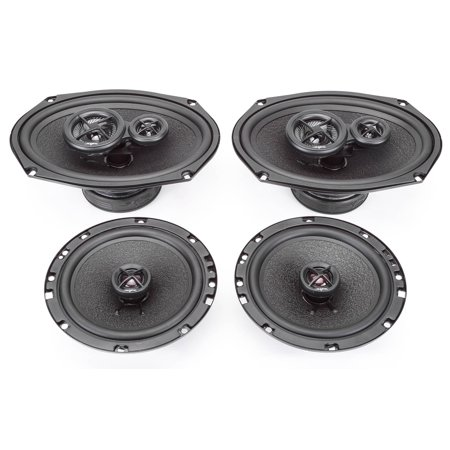 2005-2008 Nissan Xterra Complete Premium Factory Replacement Speaker Package by Skar (Complete Parts Package)