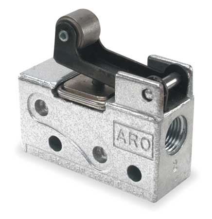 ARO 202-C Manual Air Control Valve, 3-Way, 1/8in NPT