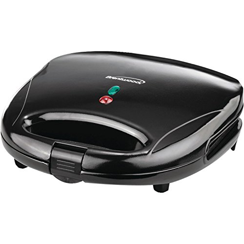 """BRENTWOOD BTWTS240BB Brentwood Black and Stainless Steel Sandwich Maker"""