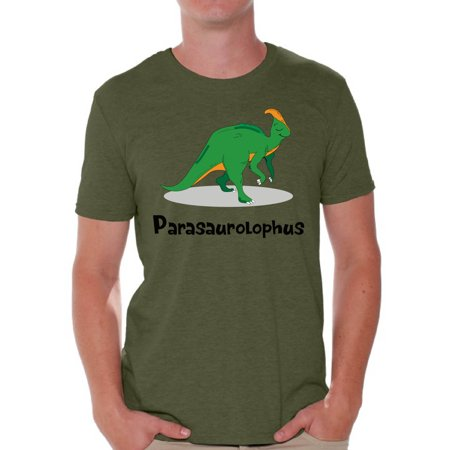 Awkward Styles Parasaurolophus Tshirt Dinosaur Shirts for Men Dinosaur Outfit Spirit Animal Parasaurolophus Tshirt Dinosaur Party Dinosaur Clothes for Men Dinosaur T Shirt Men's Parasaurolophus - School Spirit Outfit Ideas